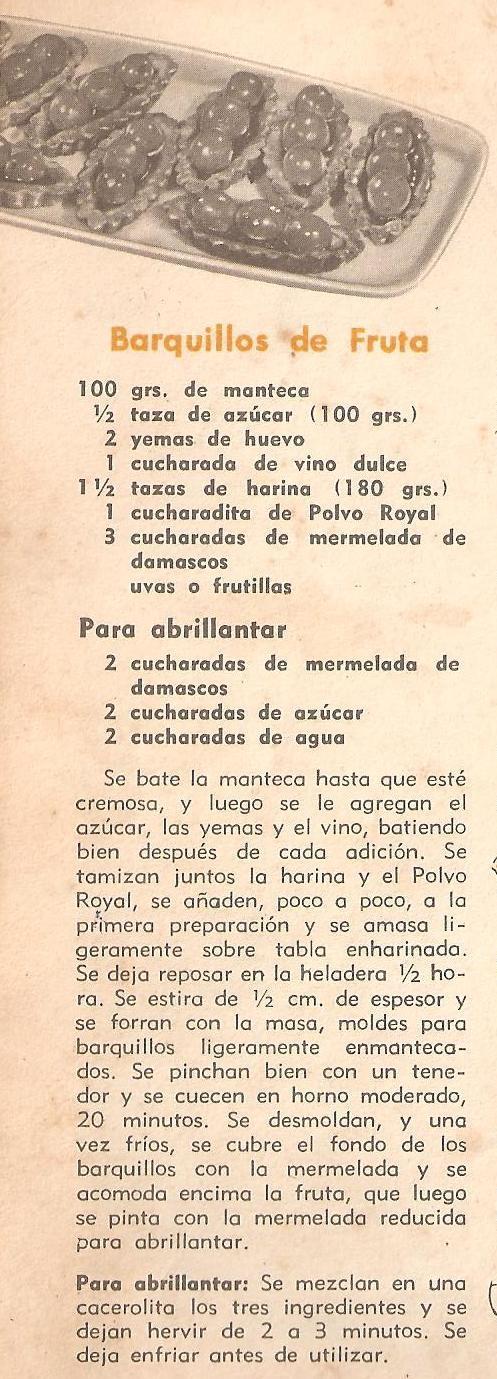 BARQUILLOS DE FRUTAS