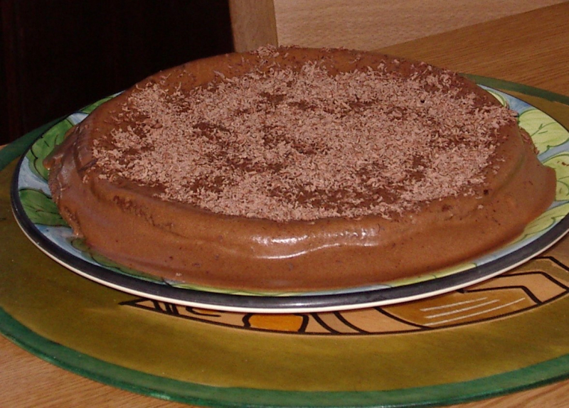Torta de chocolate de Kitty